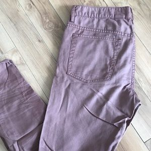 Marc by Marc Jacobs Cotton Chino Skinny Pants 30
